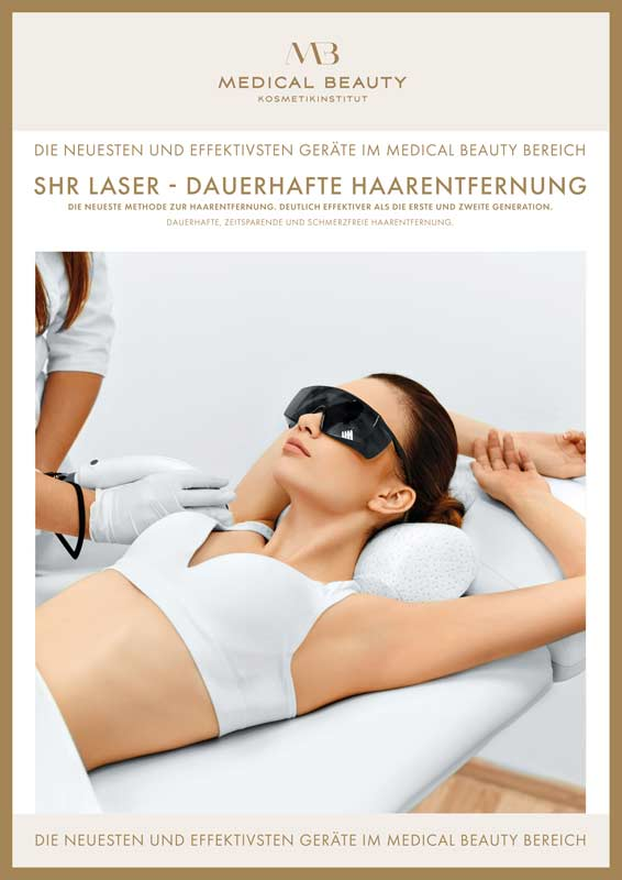 SHR Haarentfernung bei Medical Beauty in Mönchengladbach